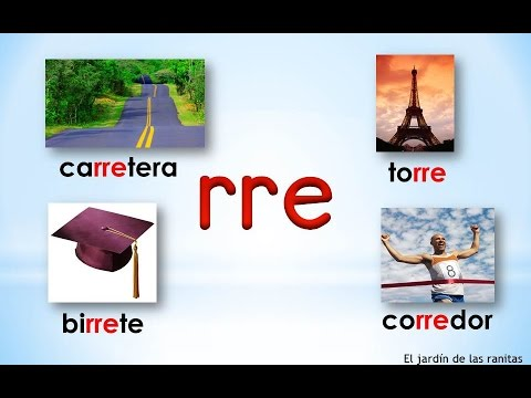 13 Sílabas Rra Rre Rri Rro Rru Syllables With Double R Youtube
