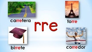 13 sílabas rra rre rri rro rru syllables with double r