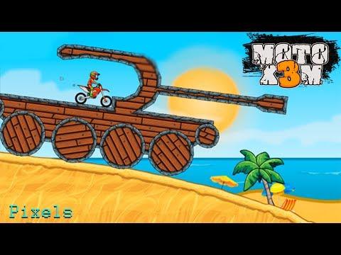 Moto X3M Bike Race Game and Stunts Racing - All Bikes Unlocked #2