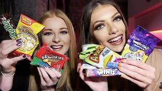 British Girls Try Mexican Candy
