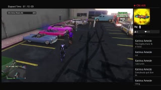 Im_Zo_Killer's Live Ps4 Live Hey Guys Im bac wit gta 5 car meet