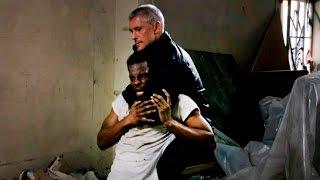 Друзья Поли допрашивают наркомана африканца Фильм Гнев (Токарев)