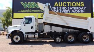 2008 Freightliner Business Class M2112 Super 12 Dump Truck at Public Auction