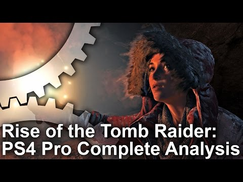 [4K] Rise of the Tomb Raider: Complete PS4 Pro Tech Analysis