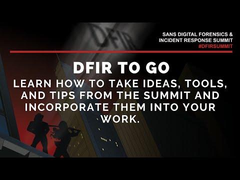 DFIR To Go W/ Heather Mahalik & Phil Hagen - SANS DFIR Summit 2020