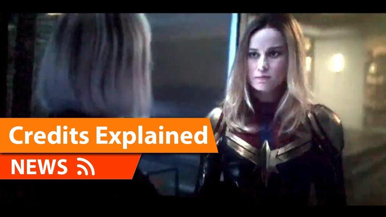 captain marvel mid credits avengers endgame scene explained