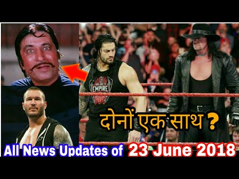 Roman reigns The undertaker & Braun strowman in a Team ! wwe Raw 25th june 2018 highlights