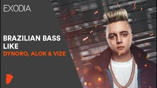 Baixar FL STUDIO: Brazilian Bass like Dynoro, Alok, VIZE & R3hab (With Vocals) / Free FLP