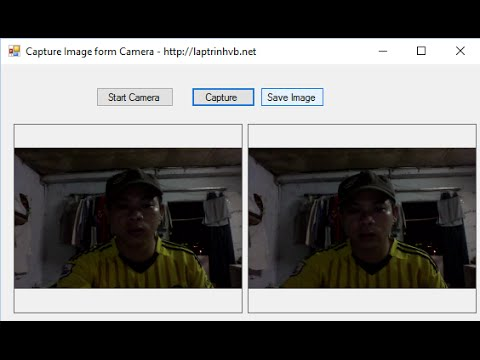[VB.NET] Tutorial Capture Picture From Camera Step by Step 2016