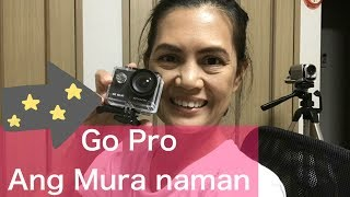 Muson  4K action camera unboxing ,review and actual footage