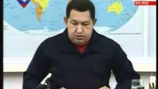 Chavez: Caso Libia y le habla a Europa