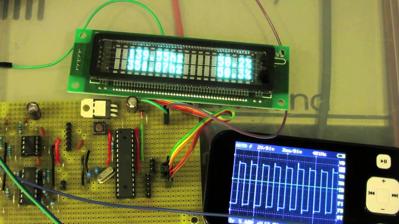 Sketchy stripboarded arduino dual frequency counter youtube
