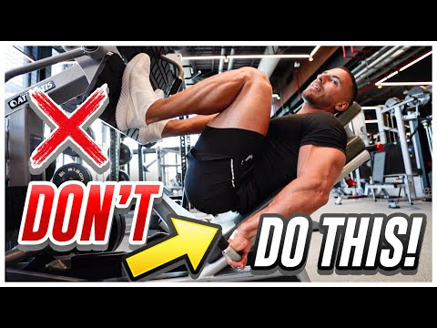 How To Properly Use Leg Machines To Grow Your Legs