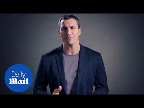 Former world heavyweight champion Klitschko retires from boxing - Daily Mail