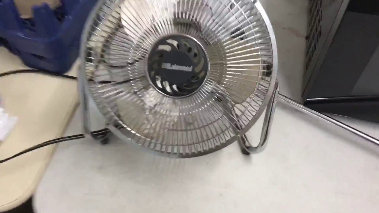 Lakewood Desk Fan Quick Test Fail