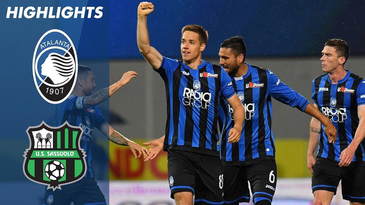 Atalanta 3 1 Sassuolo Atalanta Beat 10 Man Sassuolo To