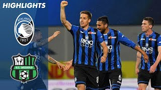 Atalanta 3-1 Sassuolo | Atalanta Beat 10-Man Sassuolo to Finish Third! | Serie A