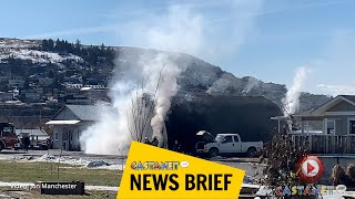 Pottery Road fire