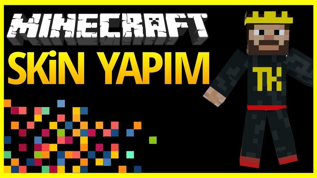Yeni Takla King Minecraft Skin yapımı