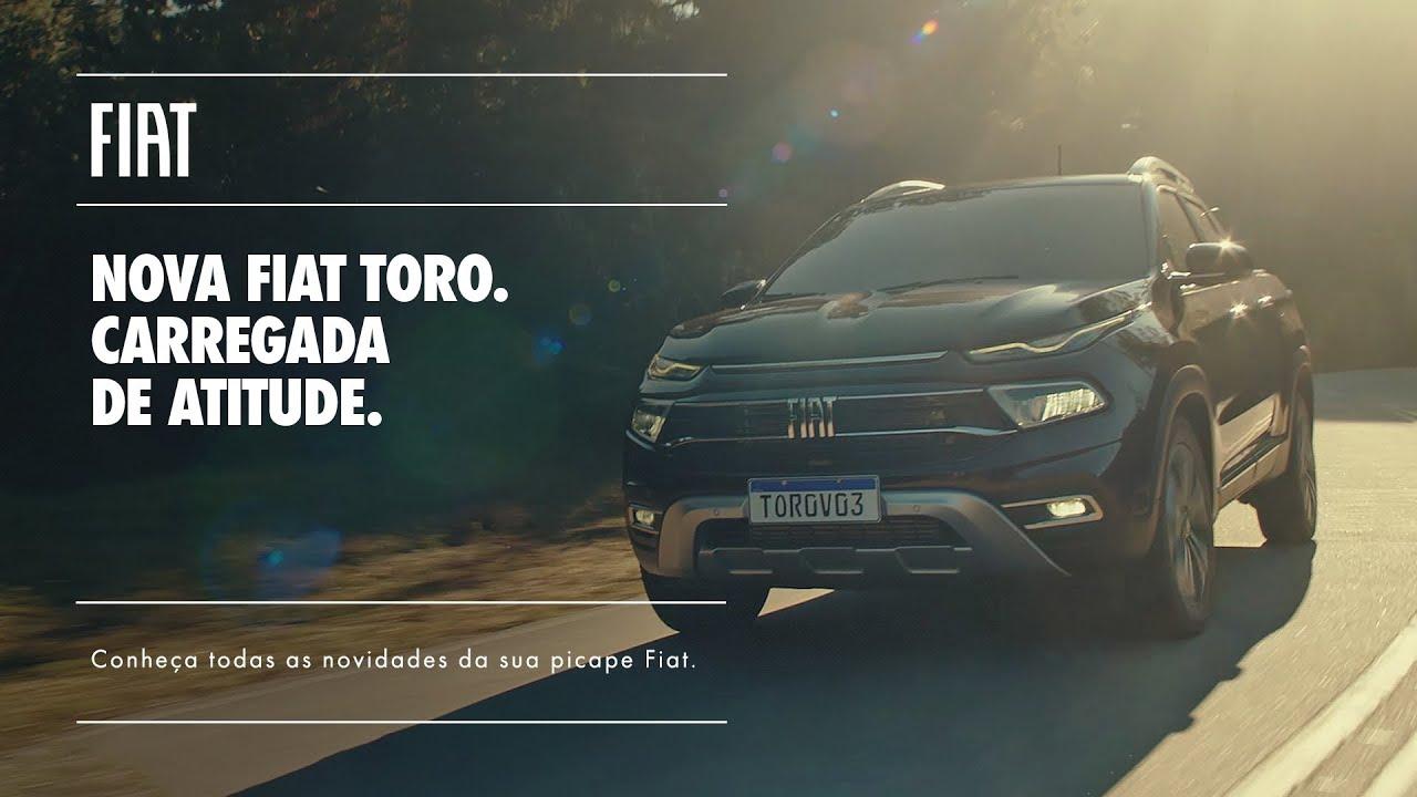 Fiat   Nova Fiat Toro: mais ágil e conectada