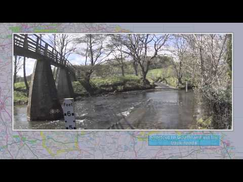 A North Yorkshire Moors National Park driving video