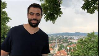 VLOG прогулка по Любляне Заграницу во время covid 19 Путешествие в Словению Фуникулёр в Любляне
