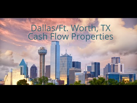 Dallas/Ft. Worth, TX Cash Flow Properties
