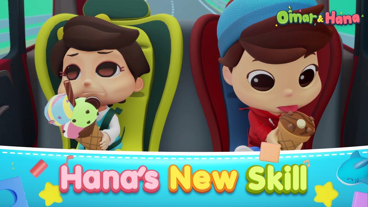 [NEW EPISODE] Hana's New Skill | Islamic Series & Songs For Kids | Omar & Hana English