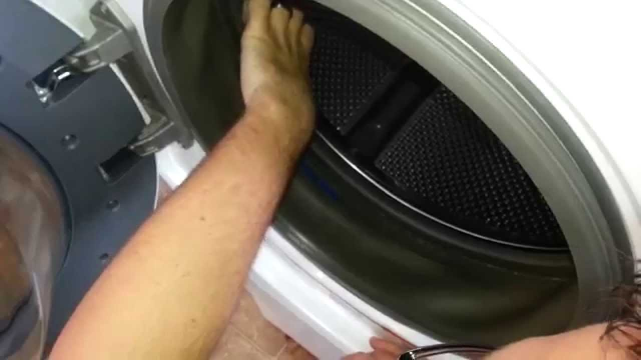 Repair Front Load Washer With Sugru