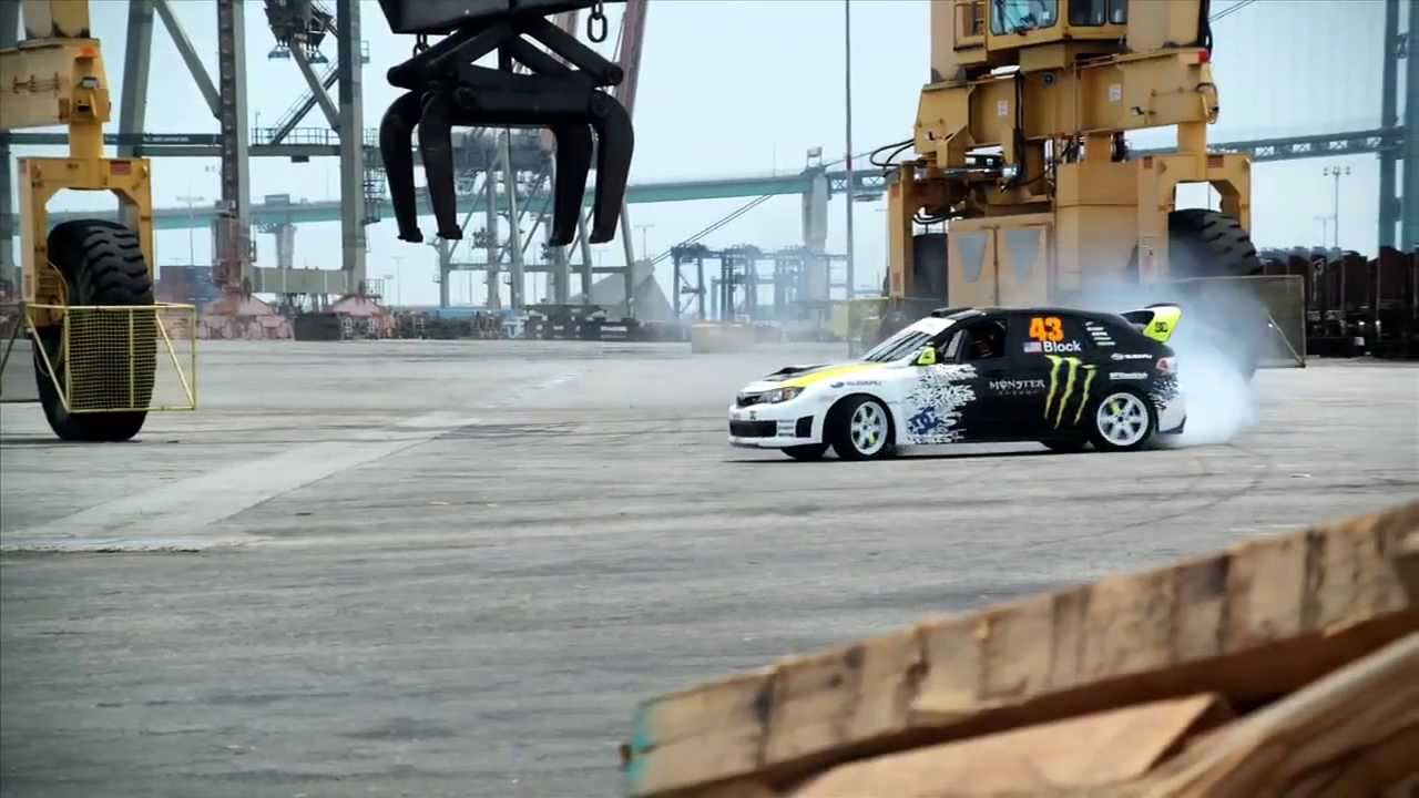 Car Stunts: Ken Block Amazing Car Stunts Video