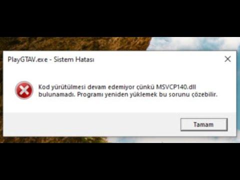 Gta 5 - EBA Canlı Ders - Pubg - Zula MSVCP140.DLL VE VCRUNTIME140.DLL SORUNU VE KESİN ÇÖZÜMÜ !
