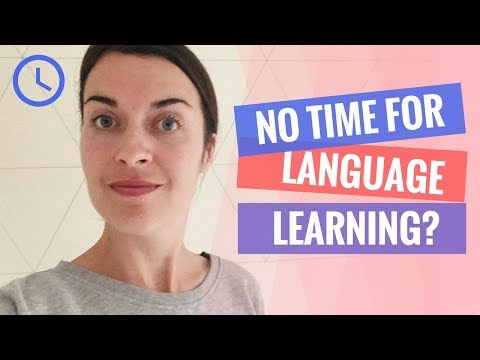 Language learning tips for VERY busy people