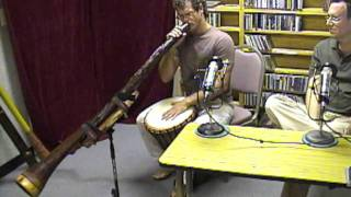 Jared Bistrong - didgeridoo - Folk & Acoustic Music with Michael Stock
