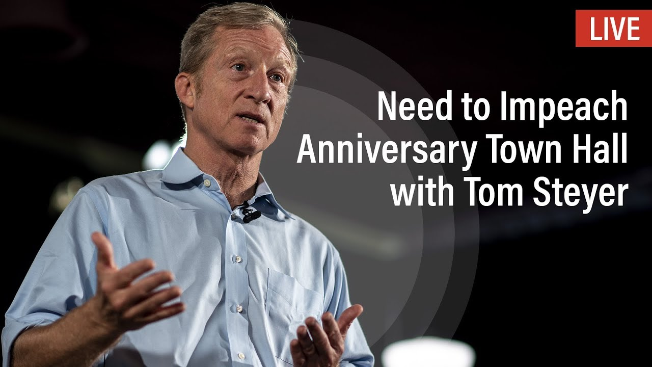 Billionaire activist Tom Steyer enters 2020 presidential contest, after passing on bid earlier this year