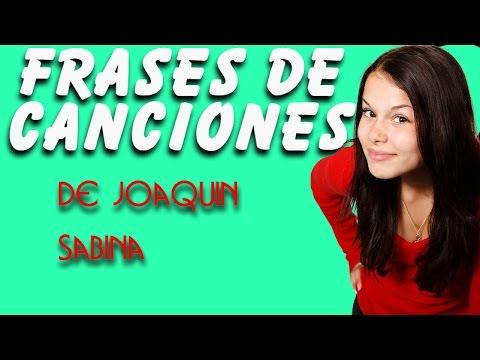 Frases de Amor de Canciones de Joaquin Sabina