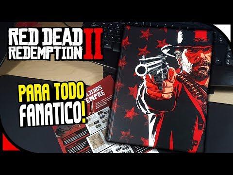red-dead-redemption-2---unboxing-de-guía-oficial-edición-coleccionista!-⭐-español