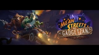 Hearthstone - Mean streets of Gadgetzan - Best of Noggenfogger - Funny plays | Best gameplay