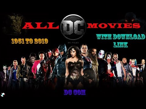 All DC Movies list !!!!!! 1951 to 2019!!! WITH DOWNLOAD LINKS !!! PART 1