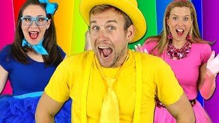 Colors Songs Collection Learn Colours For Kids Nursery Rhymes Preschool Songs