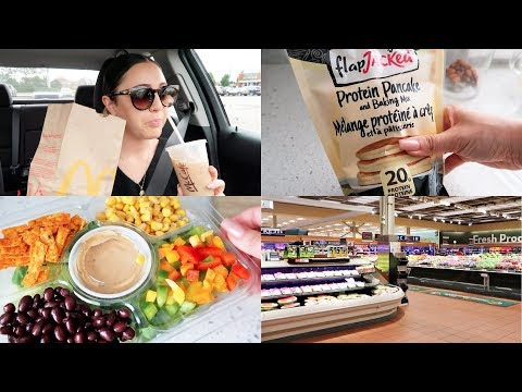 VLOG - Grocery Shopping Haul & Car Vlog thumbnail