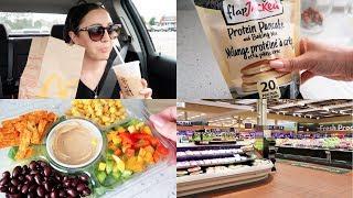 VLOG - Grocery Shopping Haul & Car Vlog