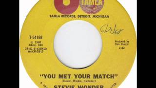 stevie wonder you met your match jul 68