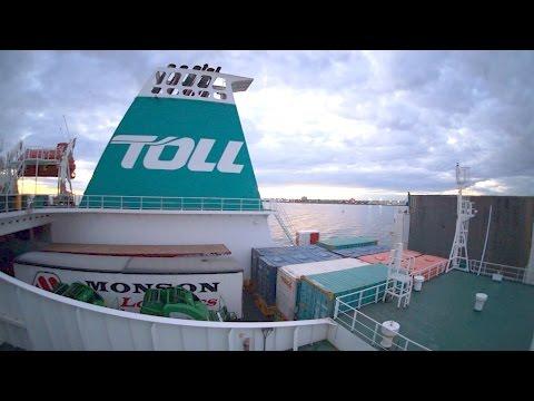 Taking A TOLL Ship To Tasmania.