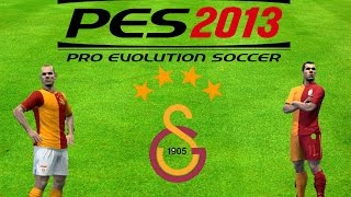 PES 2013 | GALATASARAY 4 Yıldızlı ve Metin Oktay  Forması Yapımı