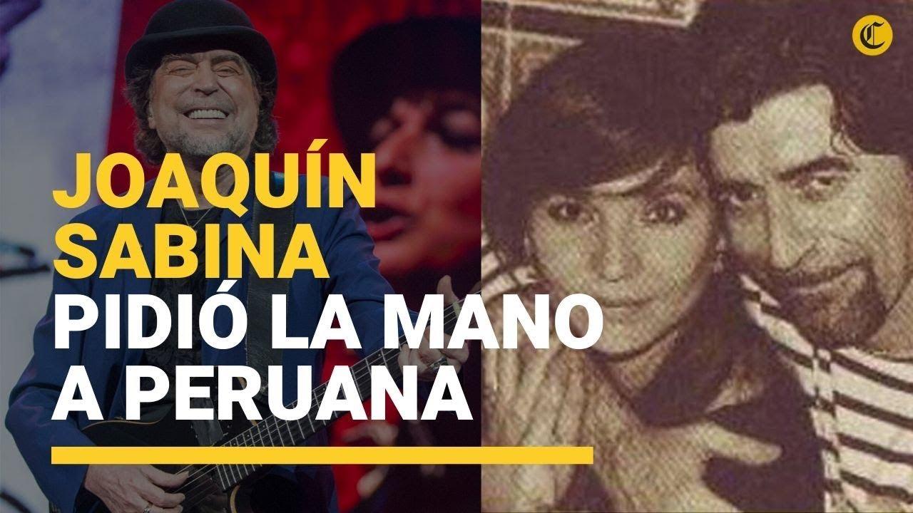 Joaquín Sabina Le Propuso Matrimonio A La Peruana Jimena