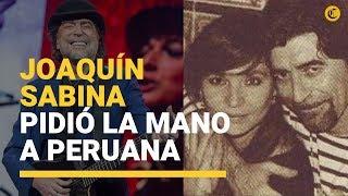 Joaquín Sabina Le Propuso Matrimonio A La Peruana Jimena Coronado Tras 20 Años De Relación