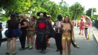 KEY WEST LOCALS PARADE 2013 part 01