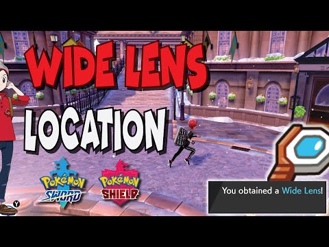 Wide Lens Location In Pokemon Sword And Shield