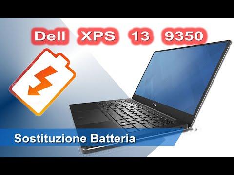 Dell XPS 13 9350 Sostituzione Batteria - Battery replacement