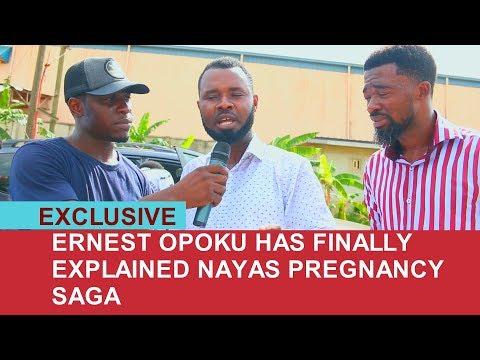 ERNEST OPOKU SPEAKS ABOUT NAYAS PREGNANCY RUMOR